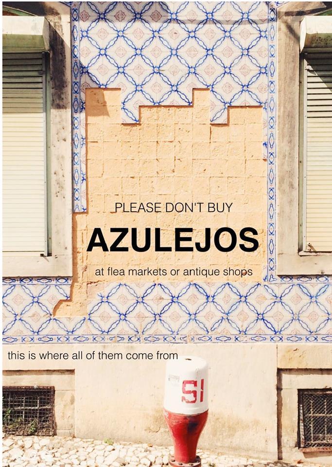E já sabe: não compre azulejos!