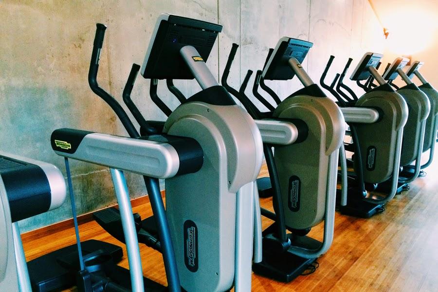 fitness studio technogym
