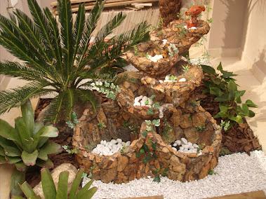 27.....ref : 0127 cascata modelo equilibrio e decoração