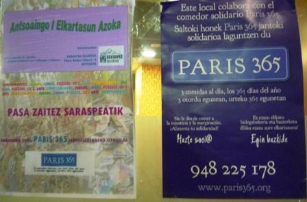 Saraspea elkartea noviembre 2011 - Comedor solidario paris 365 ...