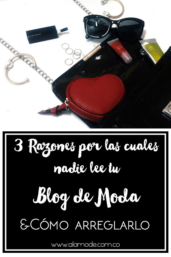 razones por las que nadie lee tu blog de moda, como se una blogger de moda exitosa, como conseguir más tráfico para tu blog de moda, blogging tips español, fashionblogger colombia