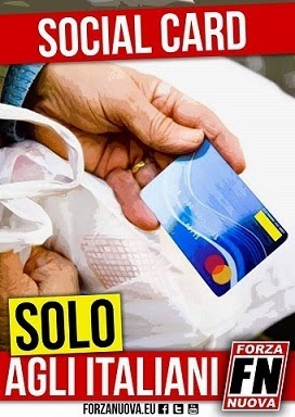 Socialcard SOLO agli italiani!