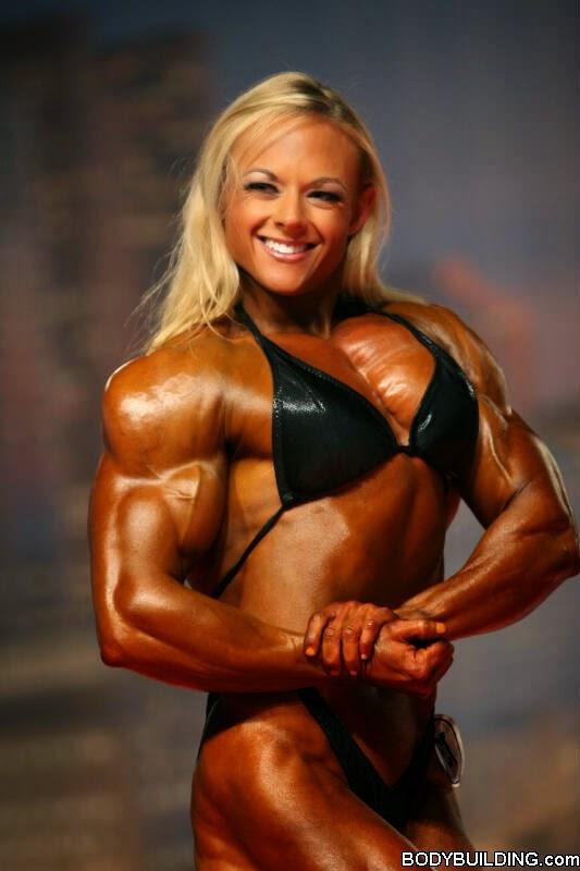 The Best Bodybuilding Workouts Program: bodybuilder Kristy
