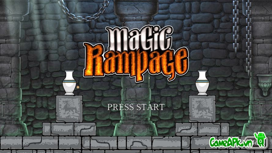Magic Rampage v1.5.5 hack full tiền cho Android