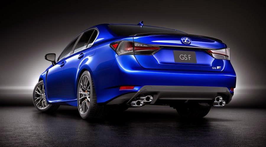 Lexus GS F (2016) Rear Side