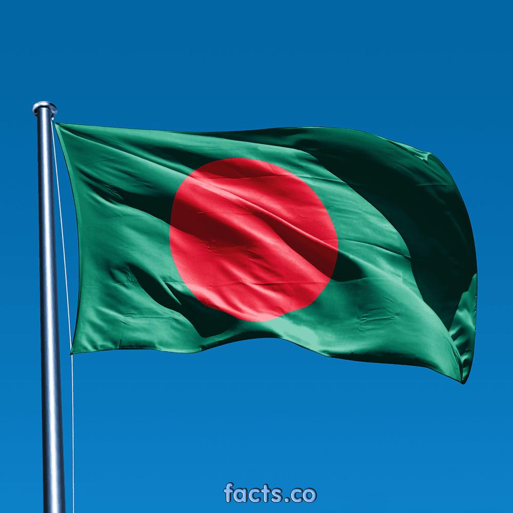 Bangladesh Flag Beautiful Pic