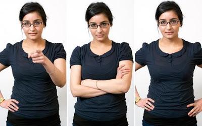 Lenguaje corporal, comunicación no verbal, gestos y kinésica
