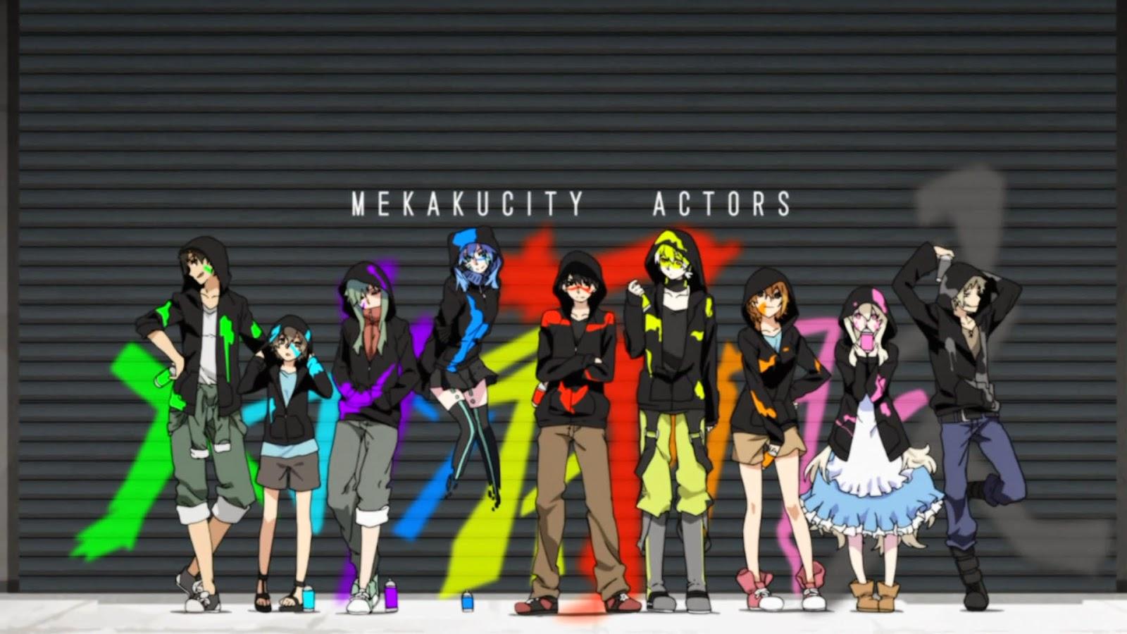 Download Tema Windows 7 Mekakucity Actors