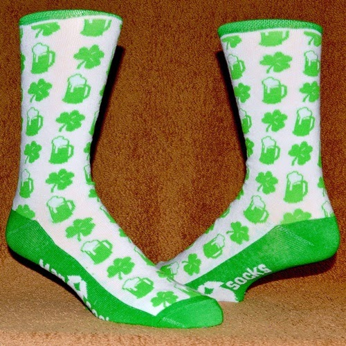 St. Patricks Day ManSock