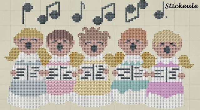 Coro de angelitos.