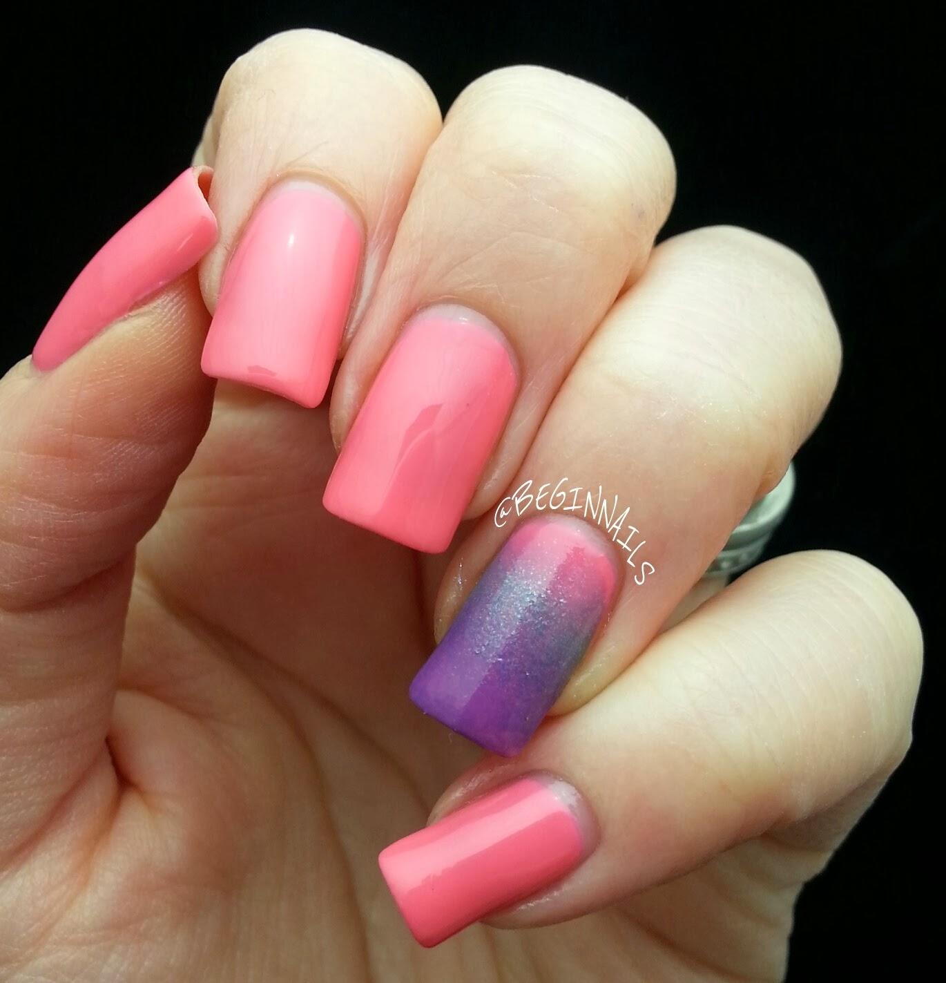 Finger Nail Paint: Let's Begin Nails: Drip Drop Nail Paint Swatches & Review