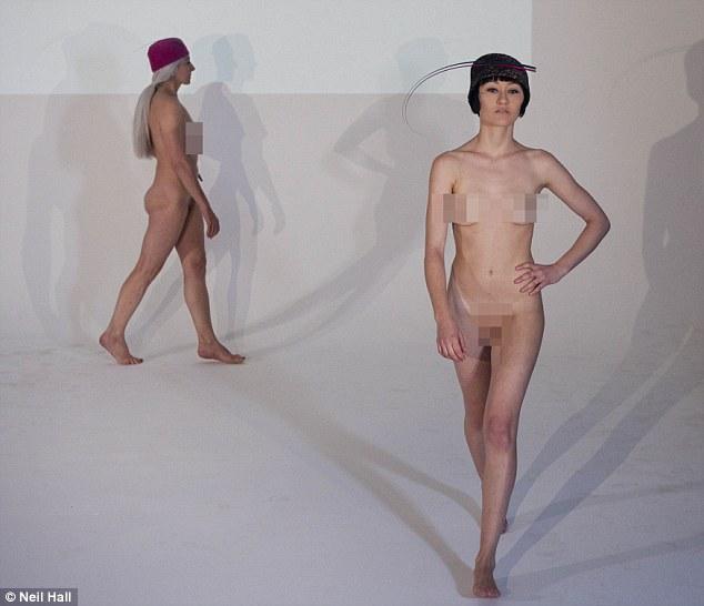 фотографии скрытй камерой моделеы на подиуме ххх