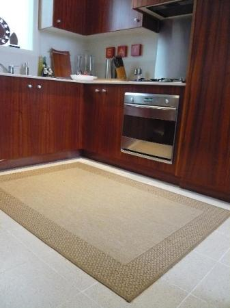 alfombra para la cocina colgadadeunapercha