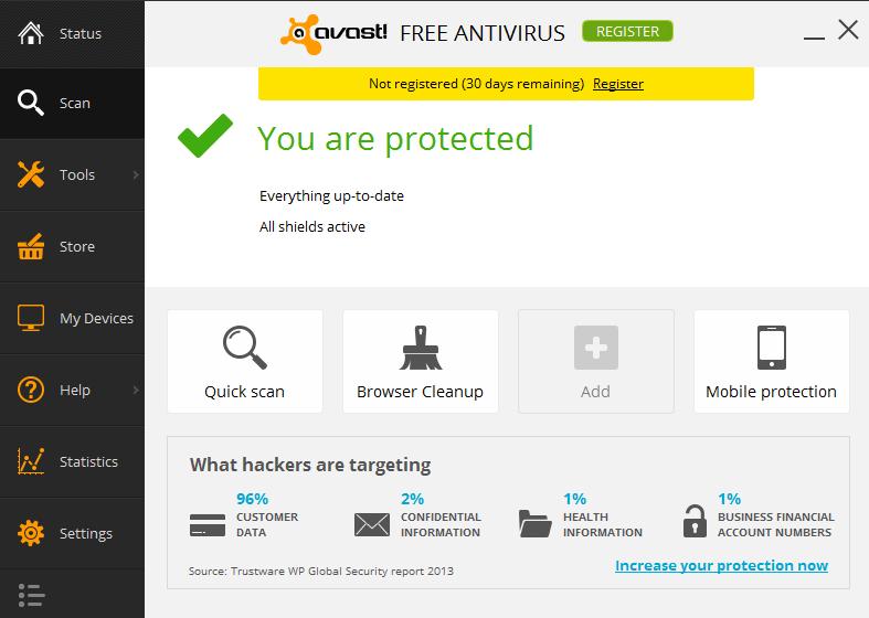 Avast! Free Antivirus 9.0.2021 R4