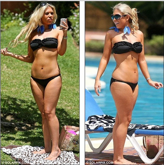 Hello Celebrity The Diet Paid Off Then Towie S Frankie