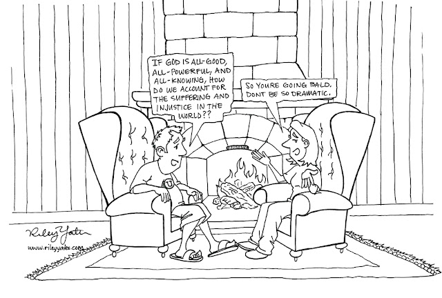 problem of evil, Theodicy, cartoon