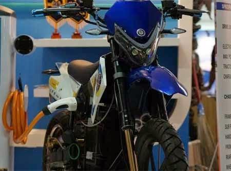 Motor Listrik eSupermoto dari Indonesia