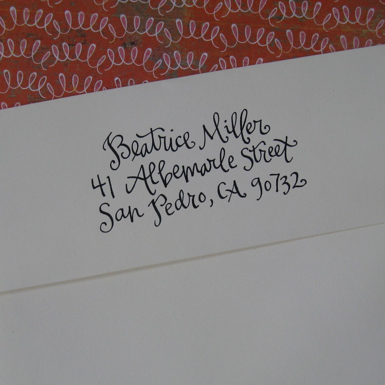 Huckleberry karen fun finds calligraphy stamps