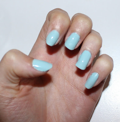 OPI Infinite Shine in Eternally Turquoise