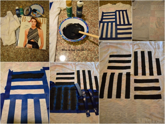DIY graphic tee tutorial pics {who is that girl mo?}