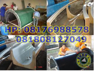 Pembuatan Slide Waterpark