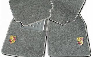 Carpete de carro porsche