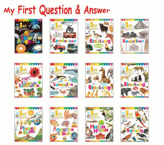 Paket Buku My First Questions & Answers (SKI) Penerbit Imagioo Books
