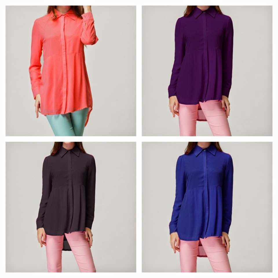 Infojelita Trend Fesyen Blouse Labuh