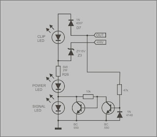 peak level indicator audio electronic design
