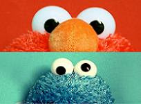 Elmo & Cookie Monster