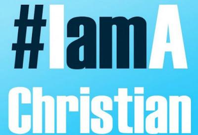 Christian, #IamAChristian