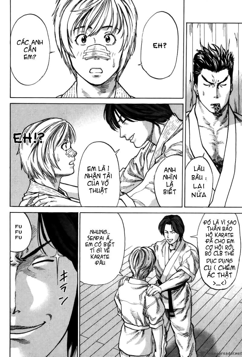 Karate Shoukoushi Kohinata Minoru chap 2 Trang 16