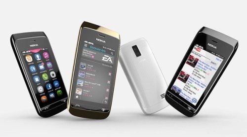 Nuovo smarpthone Nokia con supporto al dual sim e alla connessione Wifi della serie Asha