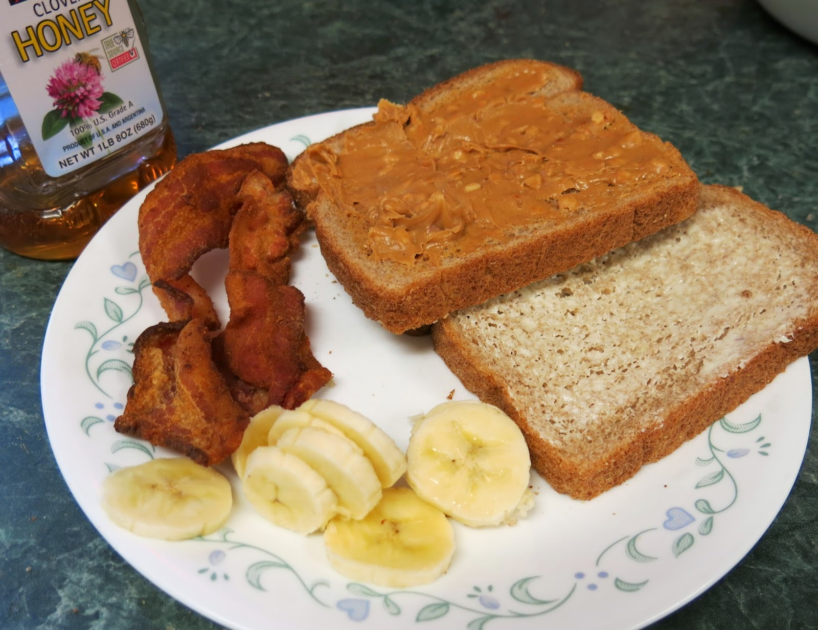 ... : Peanut Butter, Banana, Honey and Bacon Grilled Sandwich - The Elvis