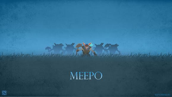 meepo the geomancer dota 2 game
