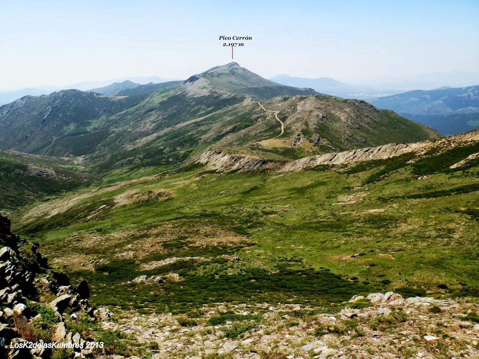 Pico del Lobo al Cerrón