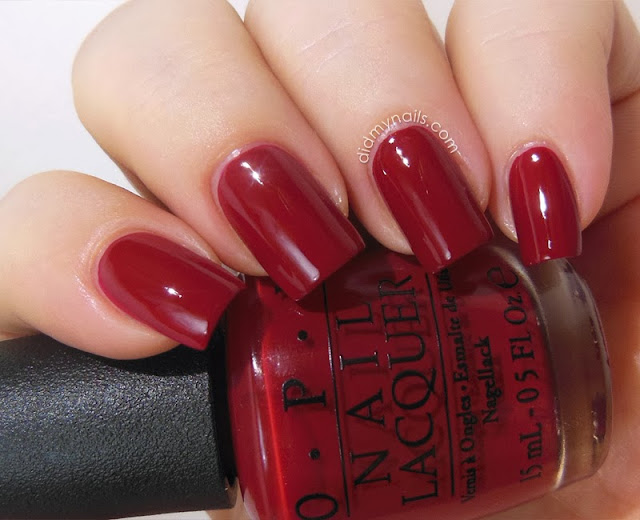 OPI All I Want For Christmas Is OPI swatch
