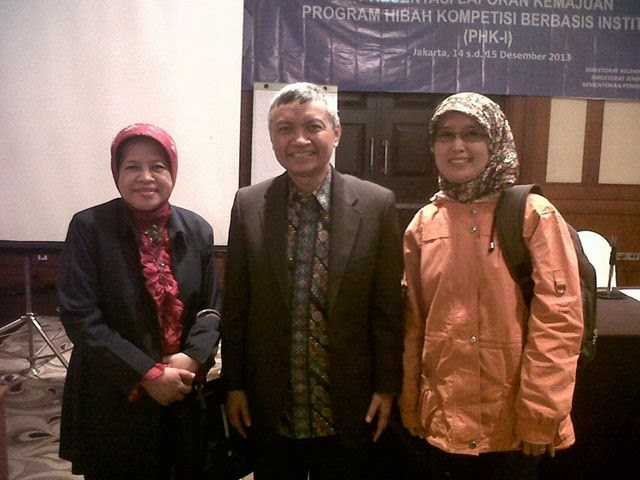With Prof. Hermawan KD