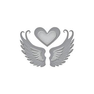 SBS1-004 Spellbinders D-Lites - Love in Flight