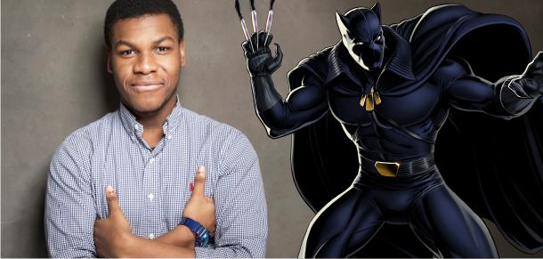 John Boyega quer ser o Pantera Negra no filme da Marvel Studios