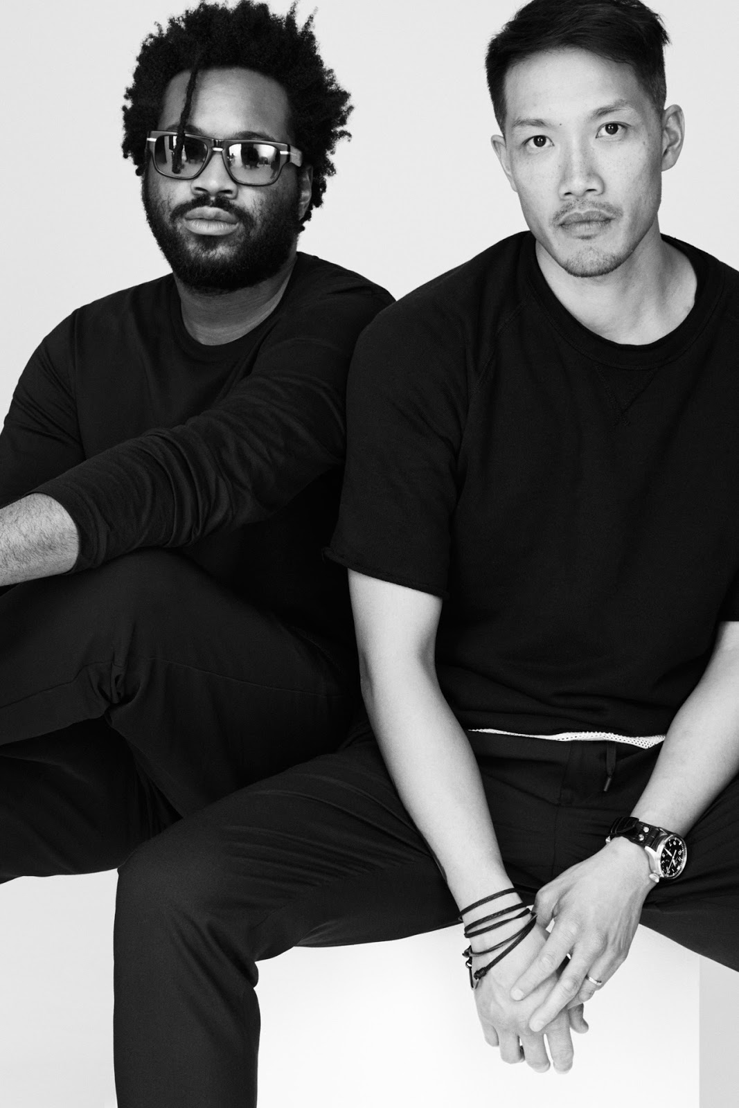 Dao-Yi Chow and Maxwell Osborne / DKNY creative directors / via fashioned by love british fashion blog / fashion news