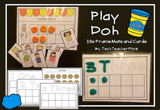 https://www.teacherspayteachers.com/Product/Play-Doh-10s-Frame-Mats-Cookie-Shop-Game-and-Activities-1978538