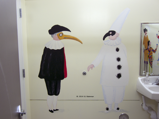 Doctor and Pulcinella