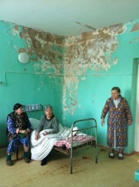 Miséria atinge hospitais russos
