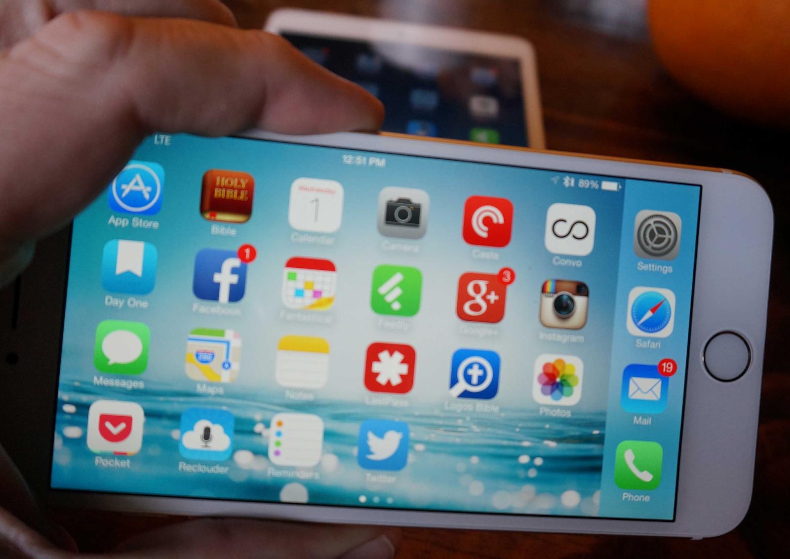 Top des meilleures applications pour iphone 6 toubib pc for Application miroir pour pc