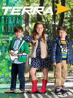 Mundo terra catalogo kids otoño invierno 2015
