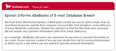 Click to view this Apr. 3, 2011 AbeBooks email full-sized