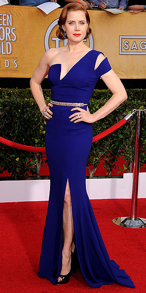 Amy Adams, SAG Awards, red carpet, fashion