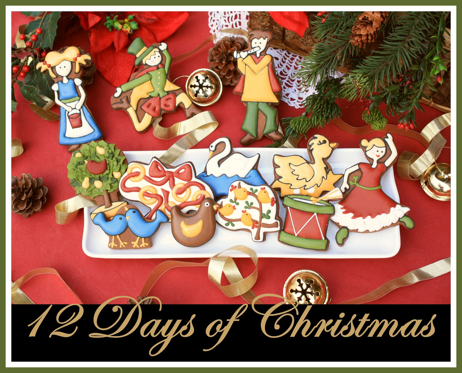 12 Days of Christmas Cookies | LilaLoa: 12 Days of Christmas Cookies