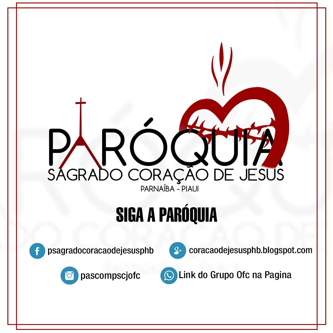 CLIQUE NA IMAGEM E ENTRE NO GRUPO DO WATHSAPP DA PARÓQUIA